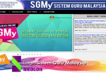 Login SGMy Sistem Guru Malaysia