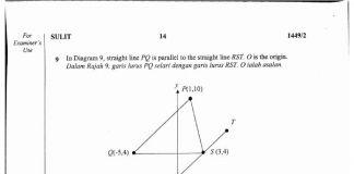 Latihan Matematik Tahun 4 Terbaik soalan Percubaan Spm 2017 Matematik Sbp Berserta Skema Jawapan