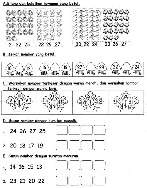 Soalan Latihan Matematik Tingkatan 1 Hebat Soalan Matematik Prasekolah Skoloh