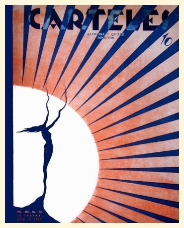 cuban art deco poster