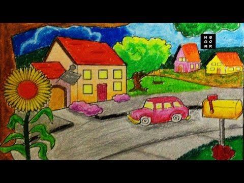 Belajar Mewarna Baik Cara Mewarnai Sekolah Dan Rumah Dengan Crayon Bagus Tk Sd Youtube