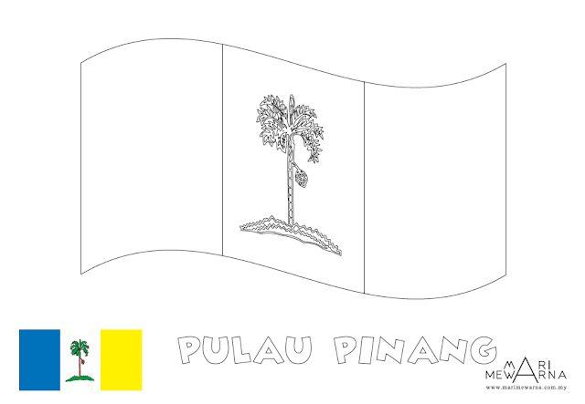 Senarai Gambar Mewarna Bendera Yang Penting Dan Boleh Di Cetakkan Dengan Mudah Skoloh