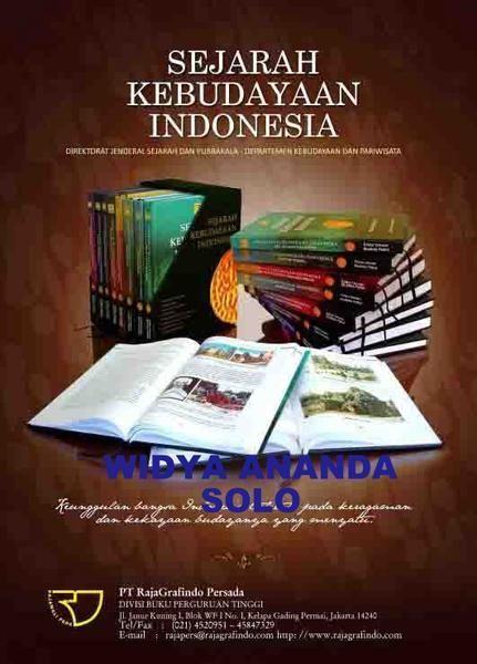 sejarah kebudayaan indonesia box set oleh mukhlis pa eni berat 6 50 kg tahun 2009