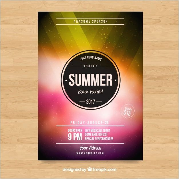 Poster Presentation Template Free Download Menarik Poster Template Free Download Fresh Free Poster Presentation