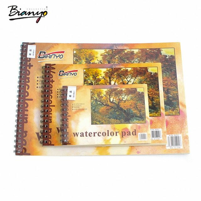 bianyo sketsa menggambar a3 a4 a5 notebook diary buku sketsa artist profesional kertas kalkir