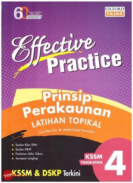 Download Dskp Bahasa Arab Tingkatan 4 Bernilai Oxford Fajar 18 Effective Practice Prinsip Perakaunan Latihan