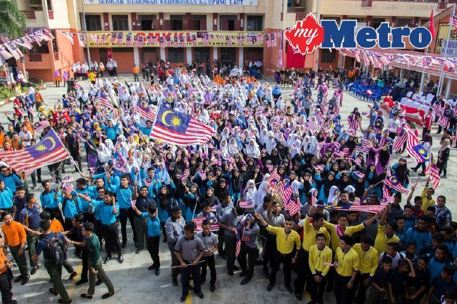 1 000 jalur gemilang rai kemerdekaan