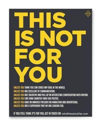 Poster Oprec Penting Freelance Job Hiring Poster Template by Akshar Pathak On