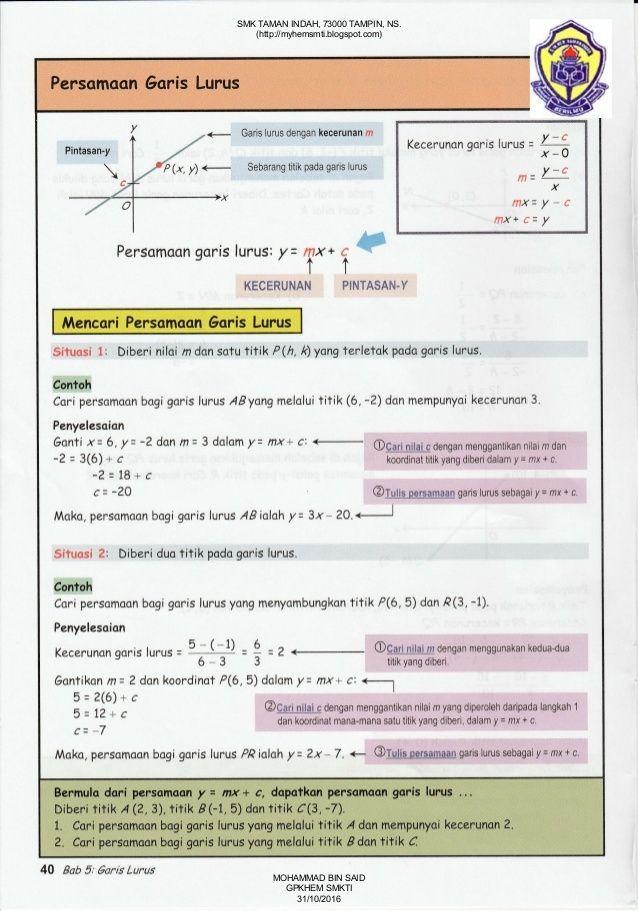 nota bahasa inggeris tahun 6 yang sangat baik nota matematik tingkatan 4