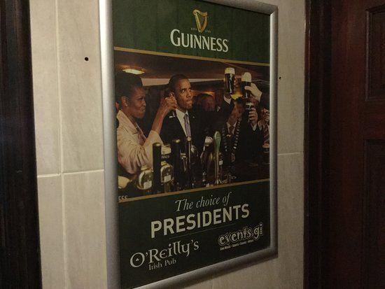 o reilly s guinness poster