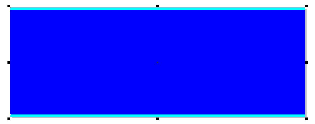 now let s add a texture fill to the main rectangle first make sure you have only the main rectangle selected then double click on the fill bucket in the