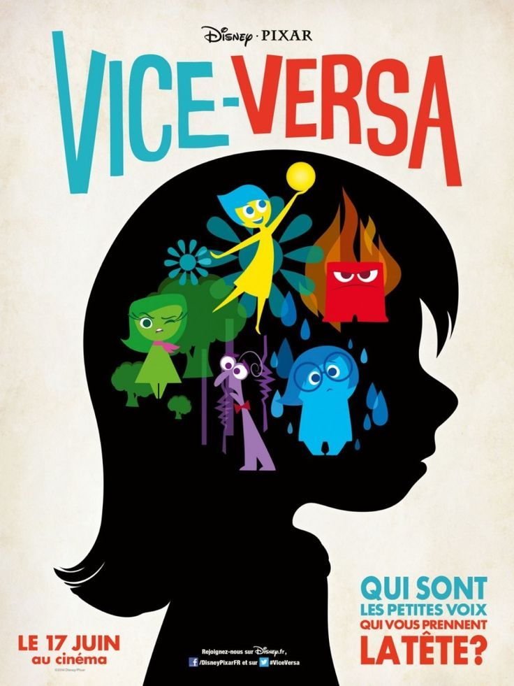 image french inside out poster