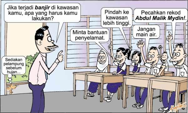 image result for kartun orang lawak