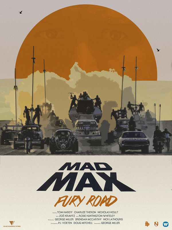 mad max fury road poster posse 1