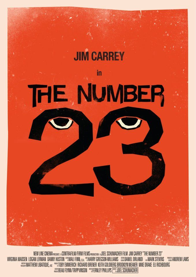 the number 23 movie poster art poster on graphic posters film posters