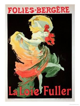 jules cheret reproduction of a poster advertising loie fuller at the folies bergere 1893 u l od5zy0 jpg