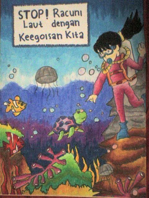 Himpunan Poster Kebersihan Lingkungan Yang Terhebat Dan Boleh Di