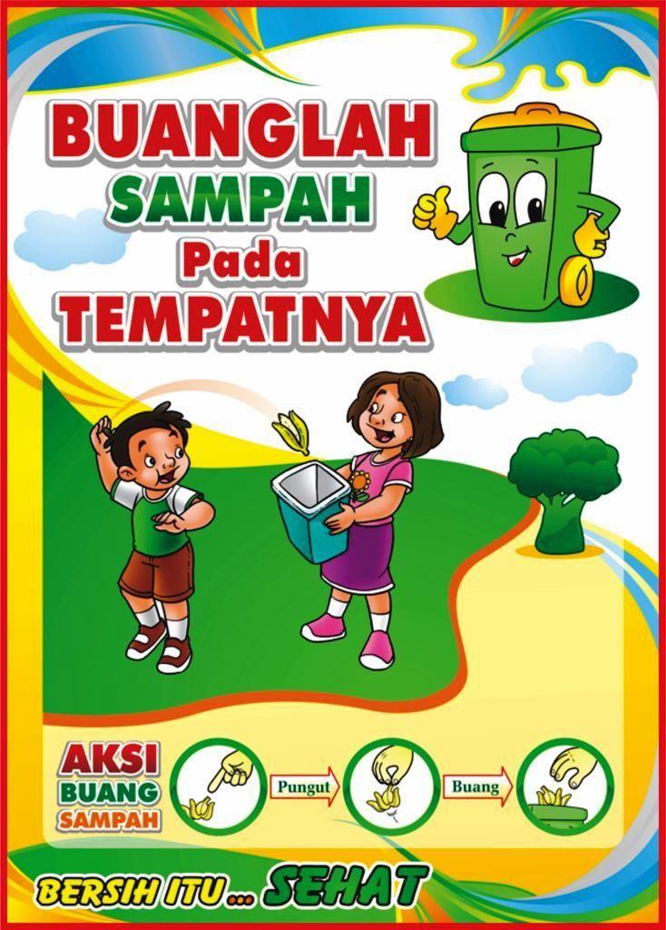 Himpunan Poster Kebersihan Lingkungan Yang Terhebat Dan ...
