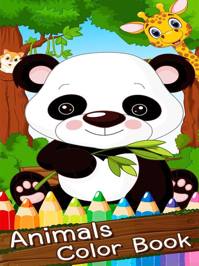lukisan mewarna buku seni untuk kanak kanak di app store