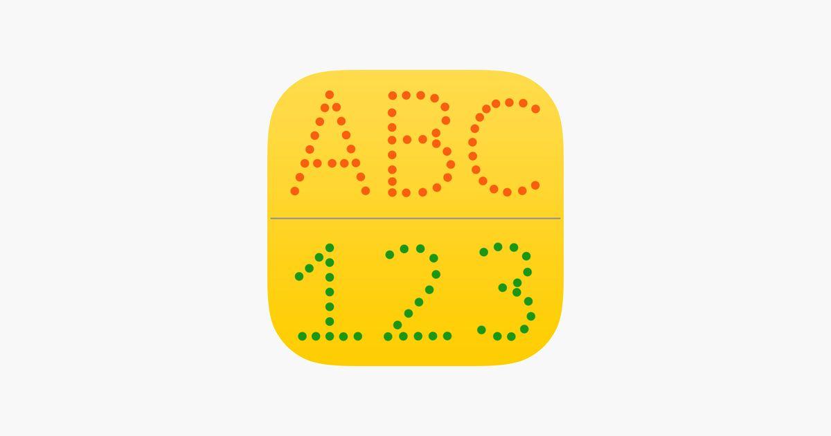 surat abc 123 untuk kanak kanak belajar menulis huruf dan nombor di app store