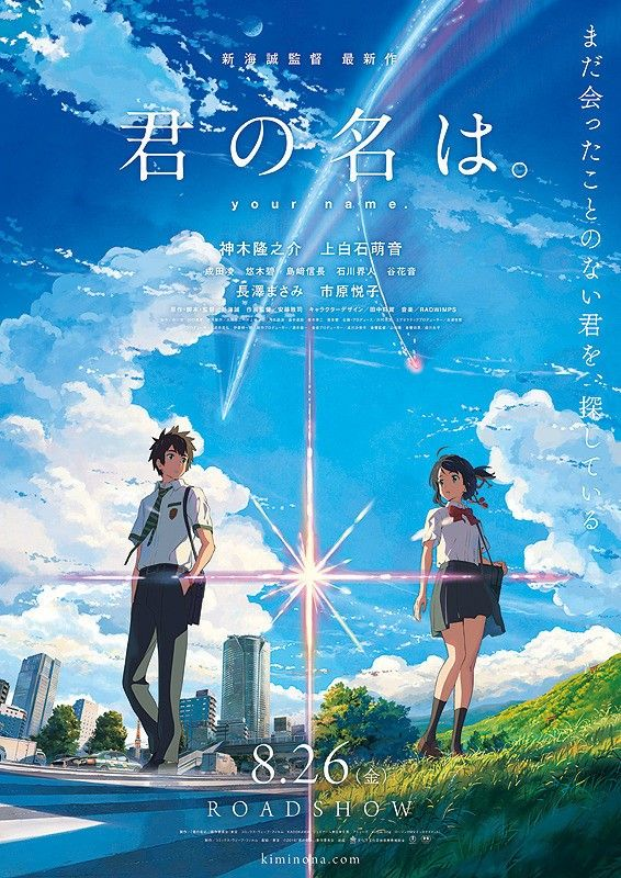 Poster My Wall Berguna Review Your Name is An Exhilarating Philosophical and