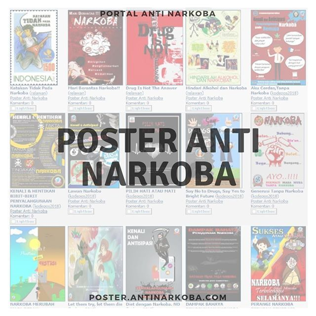 pagi gaess sekarang poster anti narkoba http bit ly 2pvygul ada 150 gambar lho terima kasih kepada kawan yg berkontribusi dengan ikhlas dan peduli