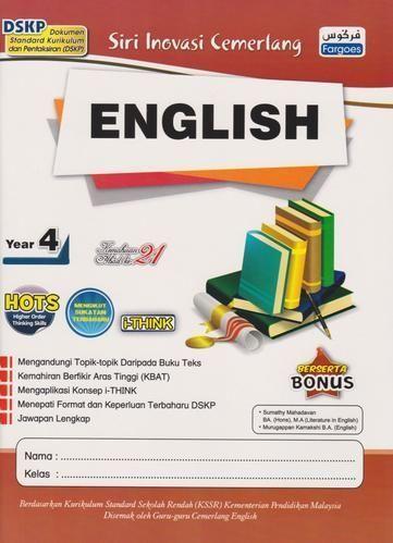 fargoes siri inovasi cemerlang english year 4 9789674596729 bukudbp com imej pelbagai teka silang kata