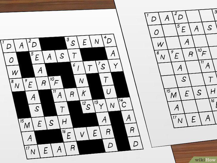 gambar berjudul make crossword puzzles step 5 cara membuat teka teki silang