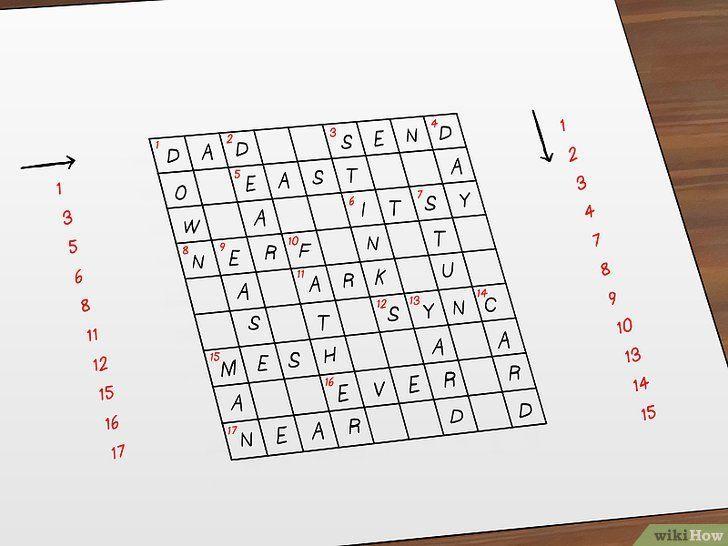 permainan teka silang kata pendidikan jasmani meletup cara membuat teka teki silang wikihow