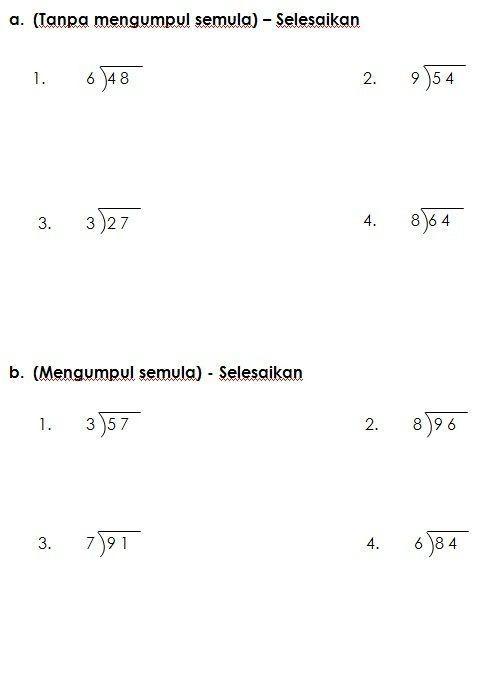 pentaksiran akhir tahun matematik tahun 2 baik latihan bahagi matematik kssr tahun 3 worksheet pinterest of