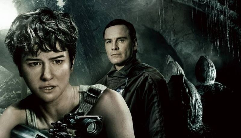 new alien covenant poster emulates aliens colonial marines box art