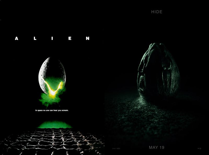 Alien Covenant Poster Meletup Alien Covenant Poster Echoes the Series First Glimpse Of Space