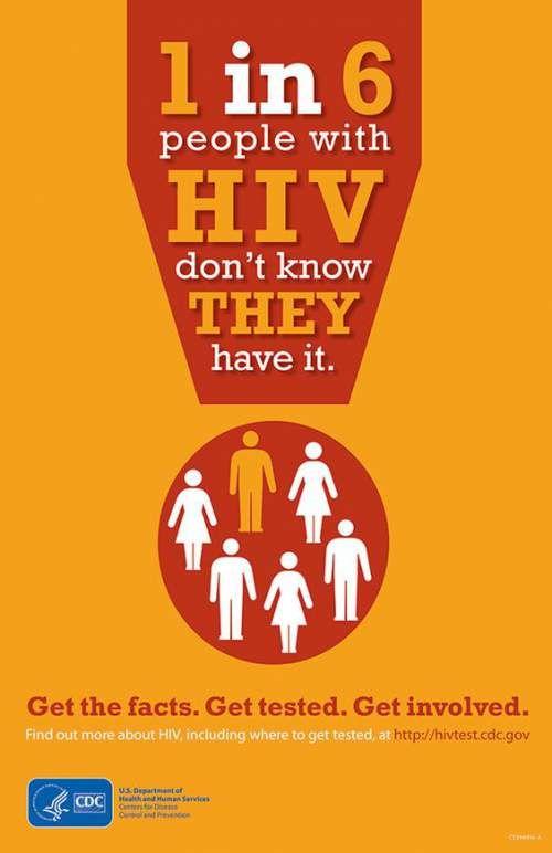 contoh poster hiv aids yang baik