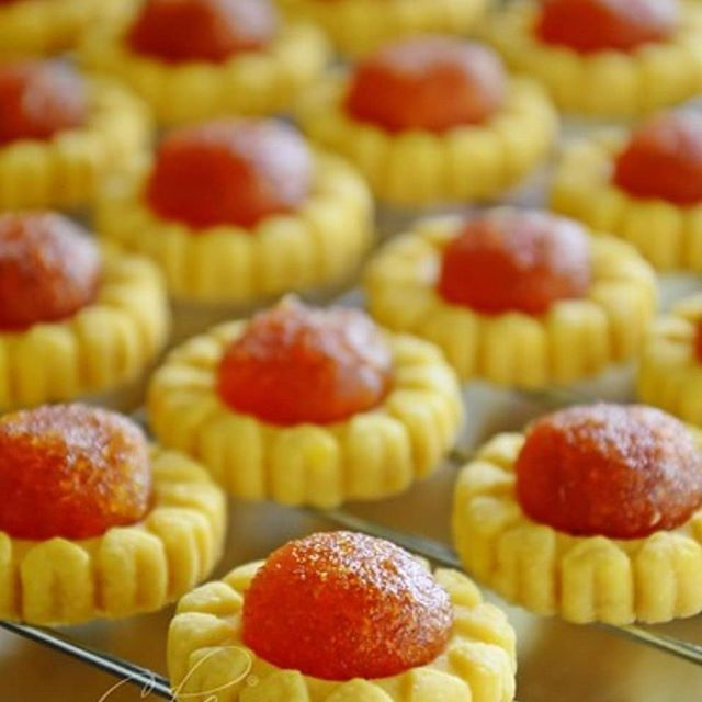 sebab ada yang minta resipi tart nanas nyonya yang che mat buat siang