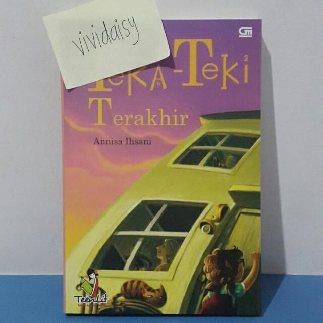 preloved novel teenlit teka teki terakhir books stationery books on carousell