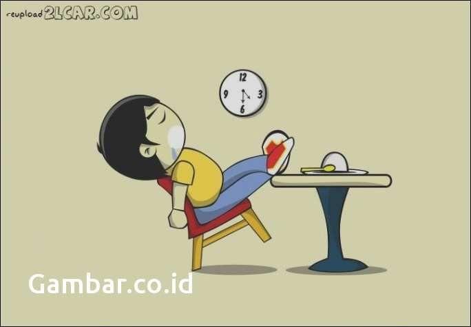 gambar kartun tidur lucu terunik 20 gambar animasi bergerak tidur lucu