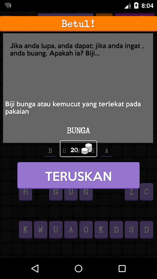 teka teki malaysia 1 0 4 screenshot 3