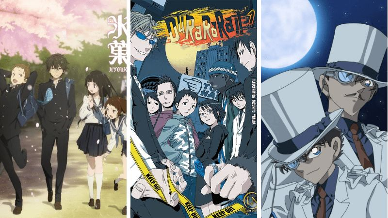 7 anime teka teki terbaik