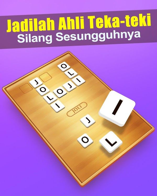 teka teki silang game android by weplay word games