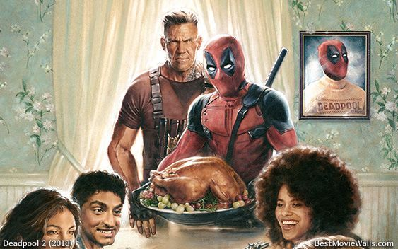 deadpool wallpaper for thanksgiving deadpool 2 poster 2018 movies