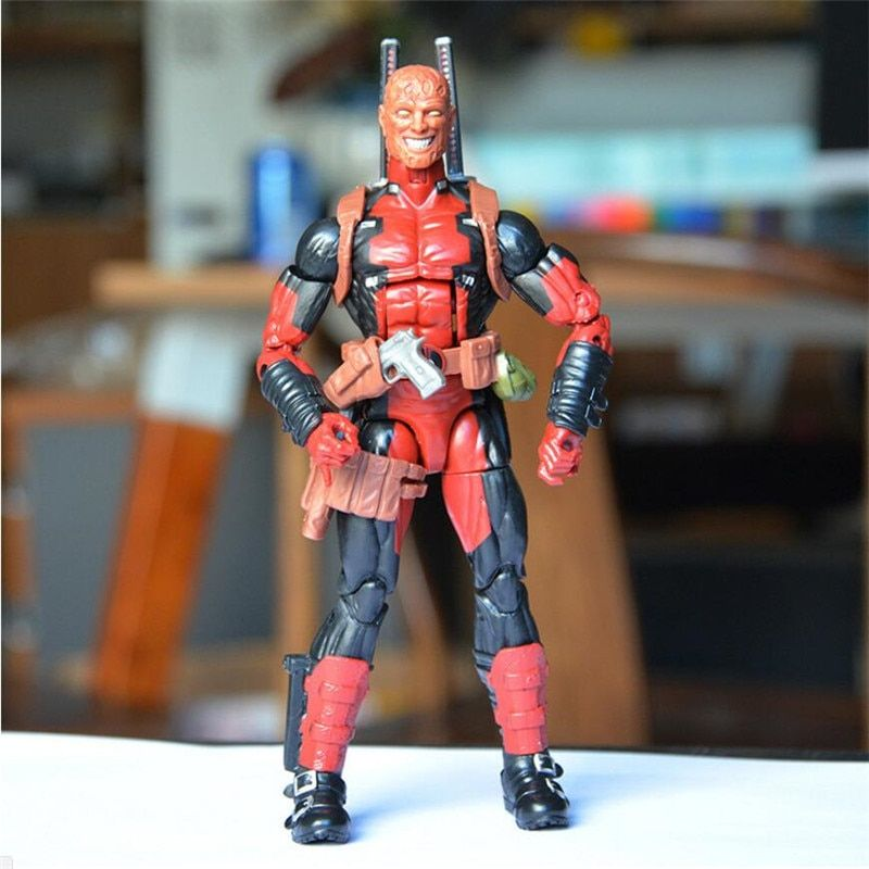 new marvel x men super hero deadpool 2 spiderman legends series action figure with retail box 6 15cm in action toy figures from toys hobbies on
