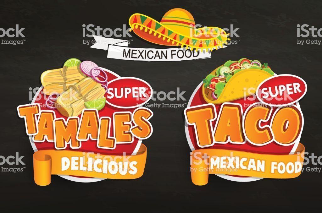 background poster pendidikan bernilai set od traditional mexican food logos emblems stock vector art gambar