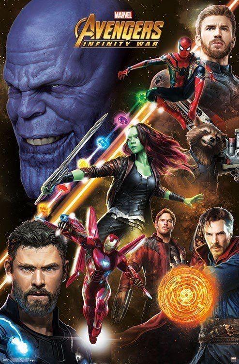 Infinity War Poster Terbaik Avengers Infinity War 2018 Comic Books Marvel Marvel