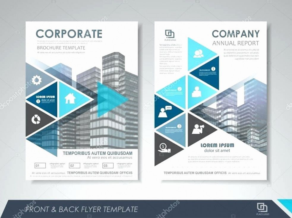 template company brochure free illustrator flyer inspirational poster templates 0d
