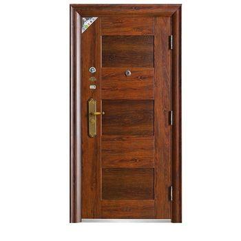 pencetakan klasik besi tunggal pintu baja gereja kuno gaya tunggal keamanan pintu baja populer keamanan pintu