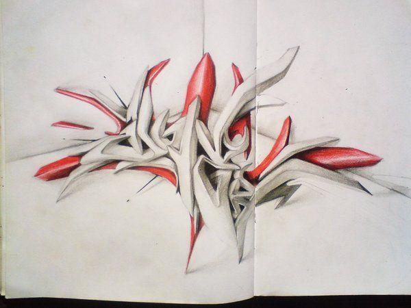 deviantart net grafiti di kertas