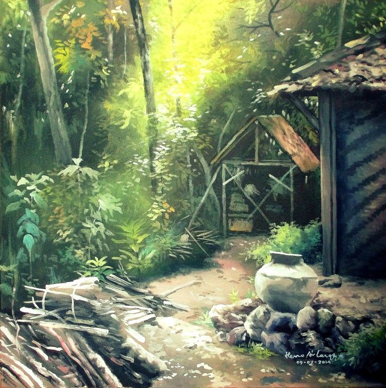 dunia lukisan javadesindo art gallery 10 lukisan pemandangan