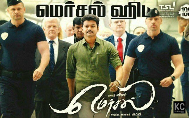 Mersal Poster Power Mersal Box Office Collection Vijay S Film Likely to Beat Enthiran