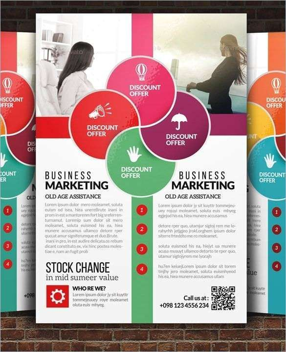 elegant gallery of poster for presentation template