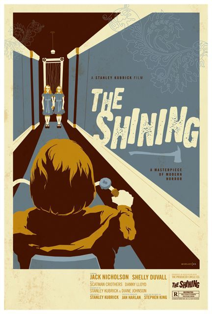 vintage horror movie posters whalen has some classically vintage renditions of contemporary horror